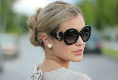Bella s Store Moda, Maquiagem e Cosméticos. Óculos Estilo Barroco ( Semelhante ao da Prada) 35d20e4caa